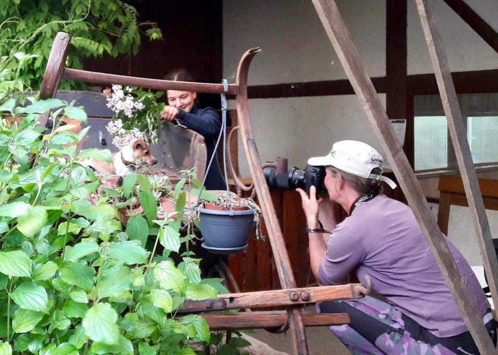 Making of Tierfotografie