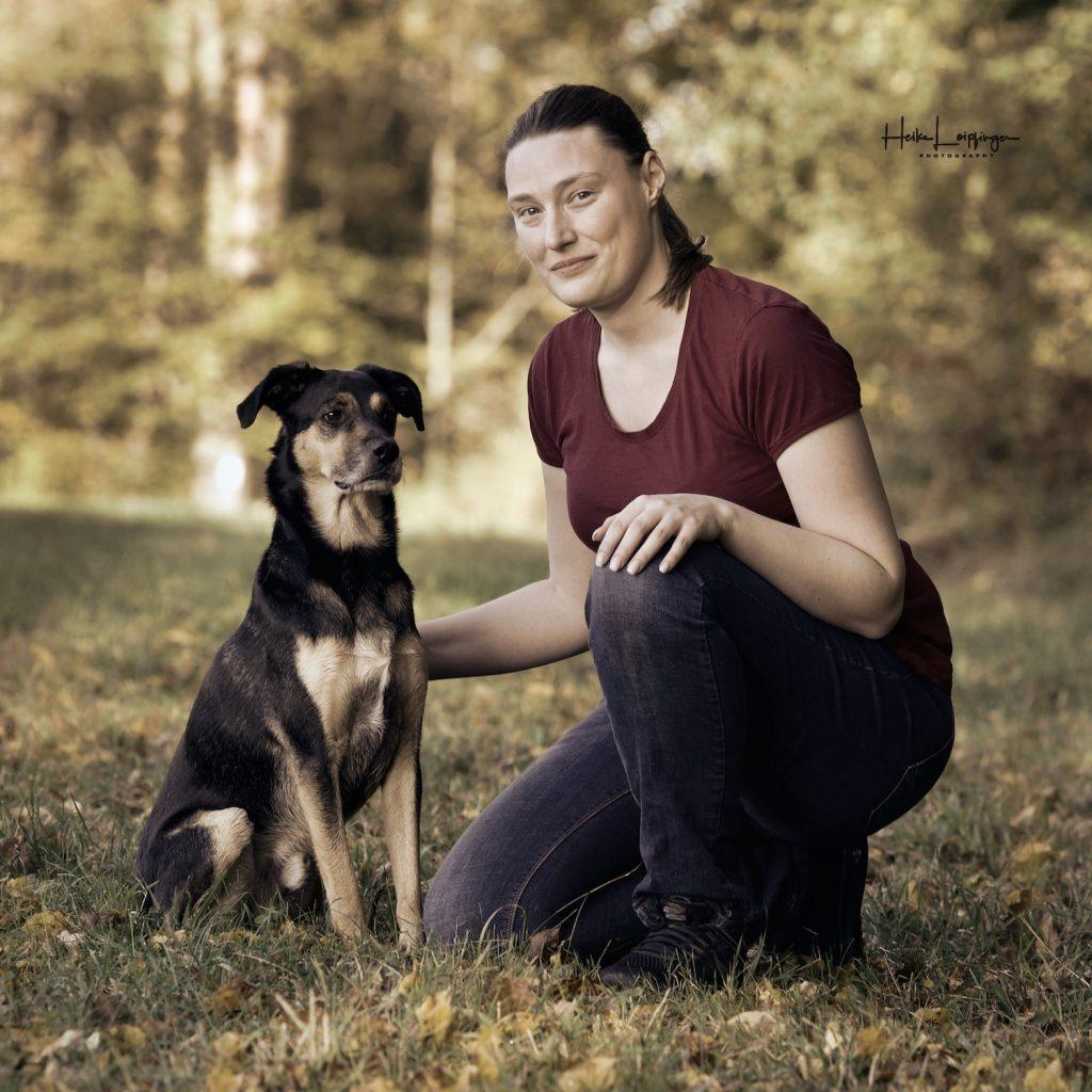 Tierfotografie Mensch und Tier Flacht